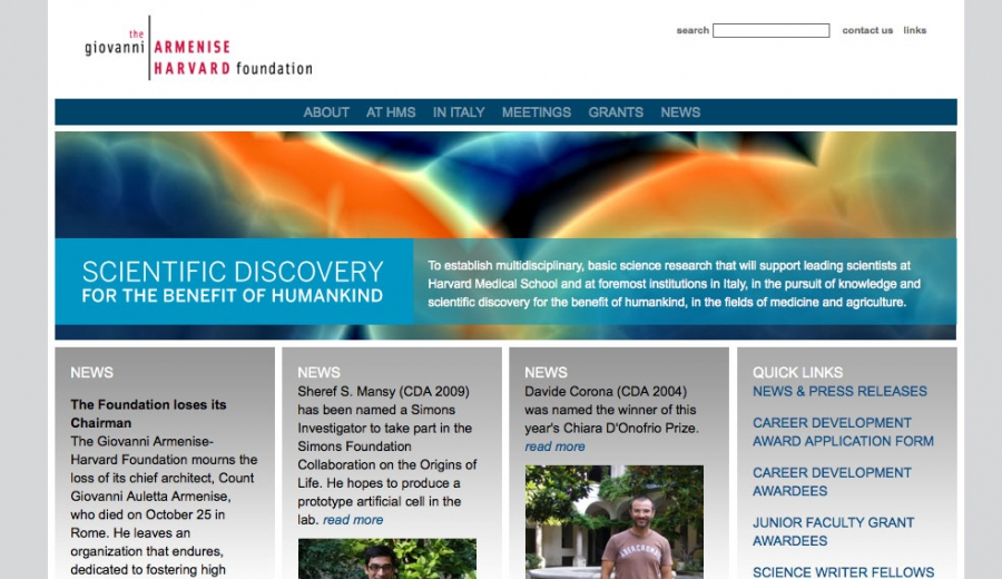 armenise home page
